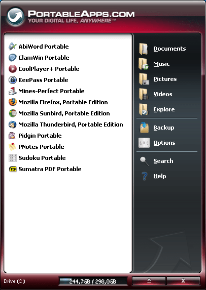 PortableApps Suite