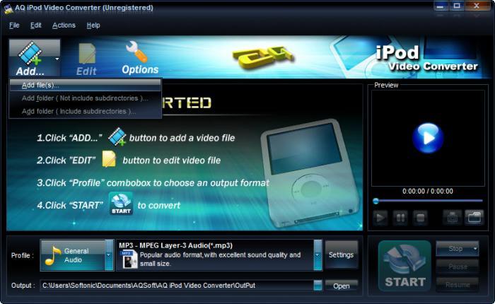 AQ iPod Video Converter