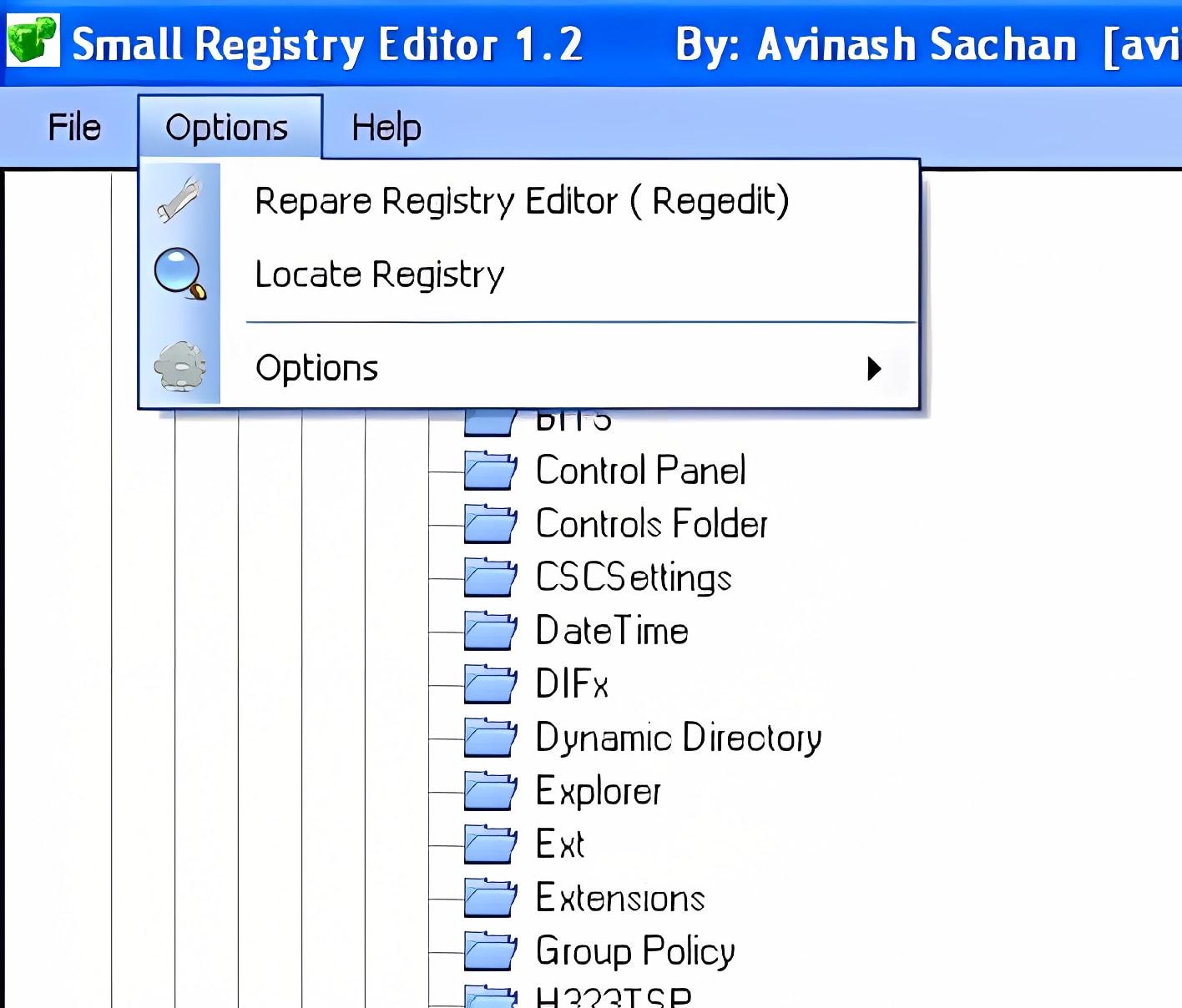 Small Registry Editor