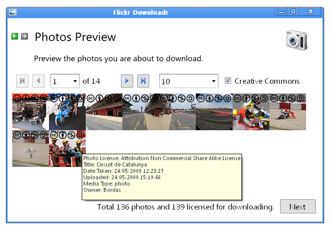 Flickr Downloadr