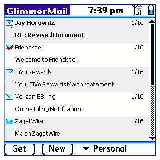 Browse to GlimmerMail