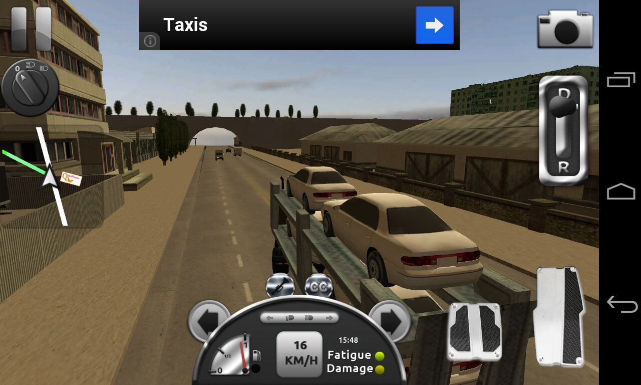 Truck simulator 3d na android download for Simulatore 3d