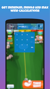 Caddie: Wind Guide/Calculator for Golf Clash
