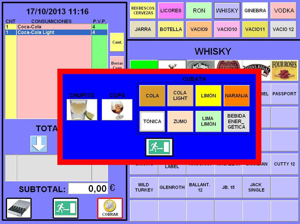 TPVInforpyme para Pubs y discotecas