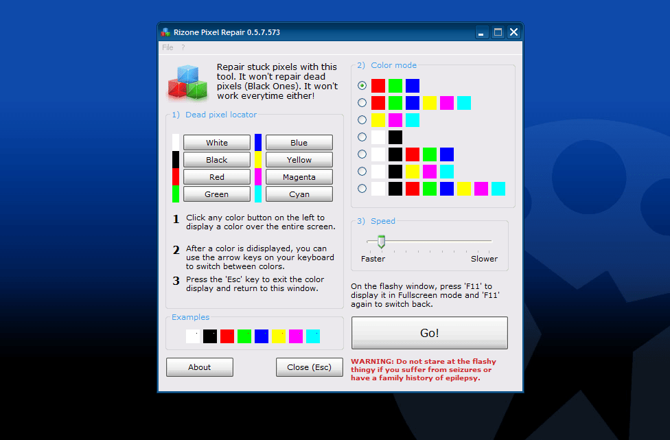 Rizone Pixel Repair