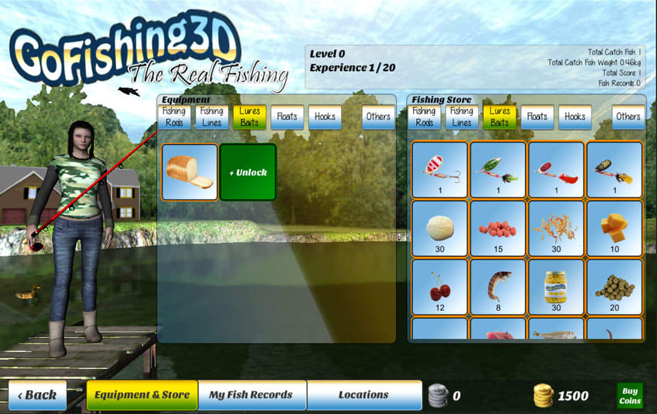 GoFishing3D The Real Fishing