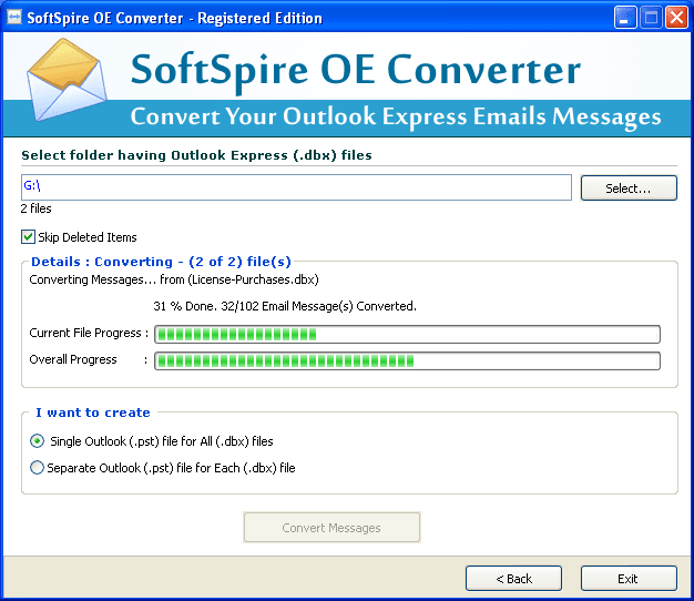 Software4Help DBX to PST Converter