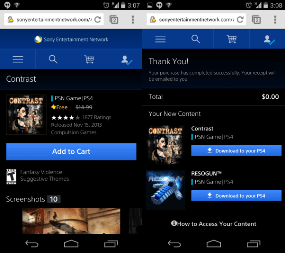 how to download playstation app