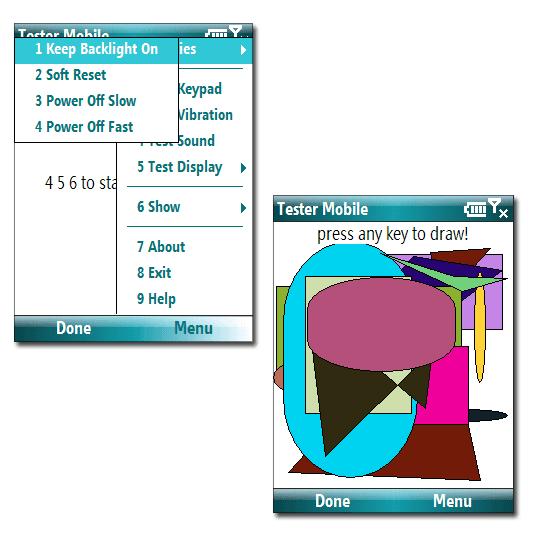 Tester mobile
