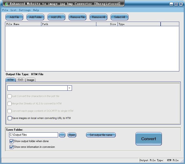free Enhanced Web to Jpg