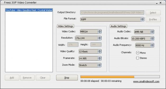 Freez 3GP Video Converter