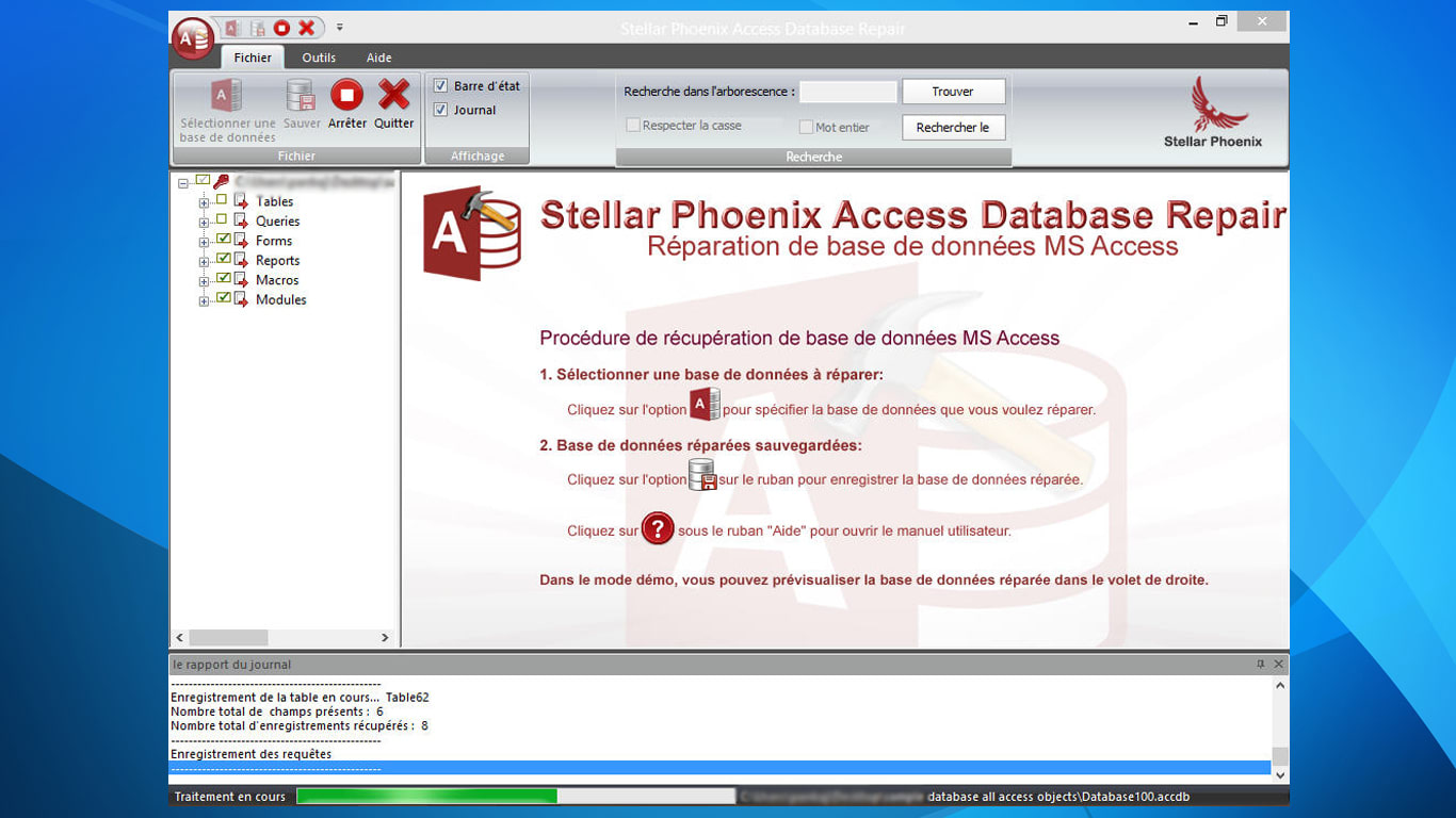 Stellar Phoenix Access Database Repair