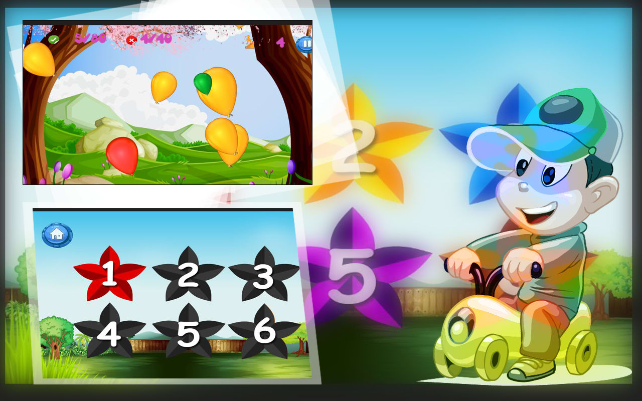 Pop Colorful Balloon:Boom dash