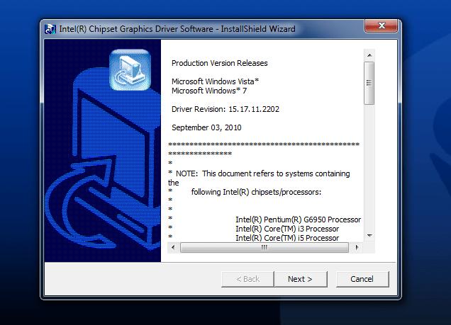 Intel Core I5 драйвера