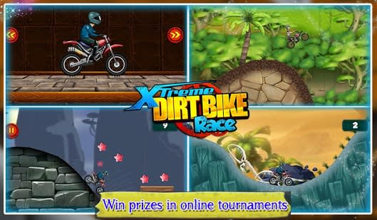 Dirt Bike Xtreme Race