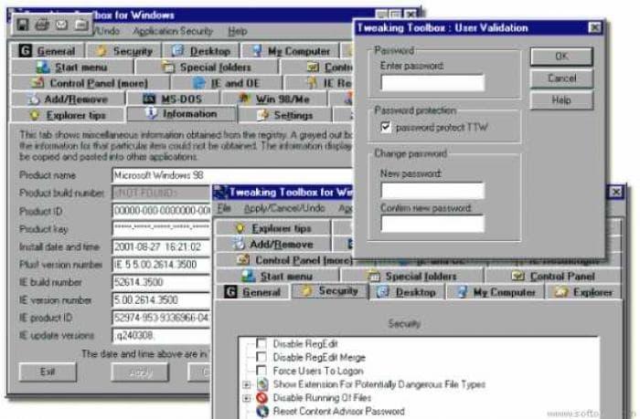 Tweaking Toolbox for Windows