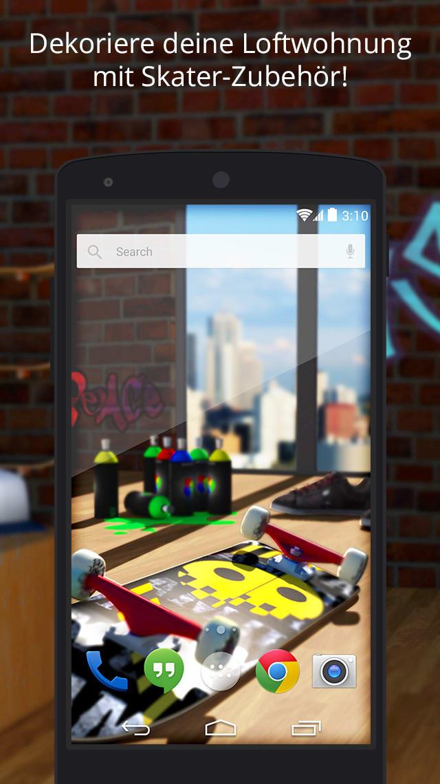UR 3D Skateboard City Theme