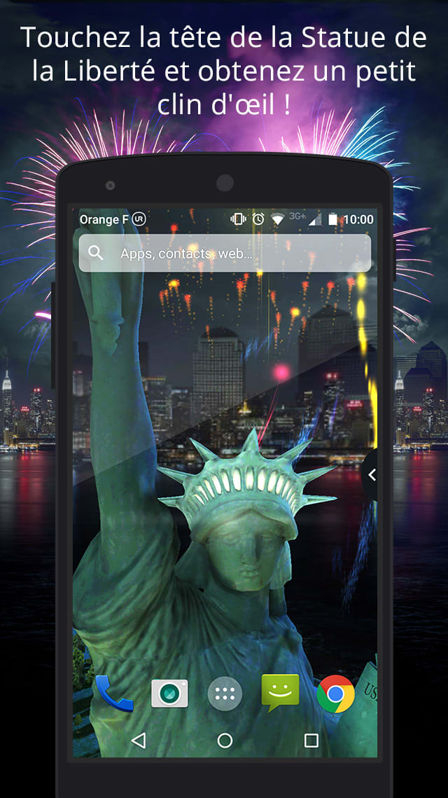 UR 3D Statue of Liberty Theme