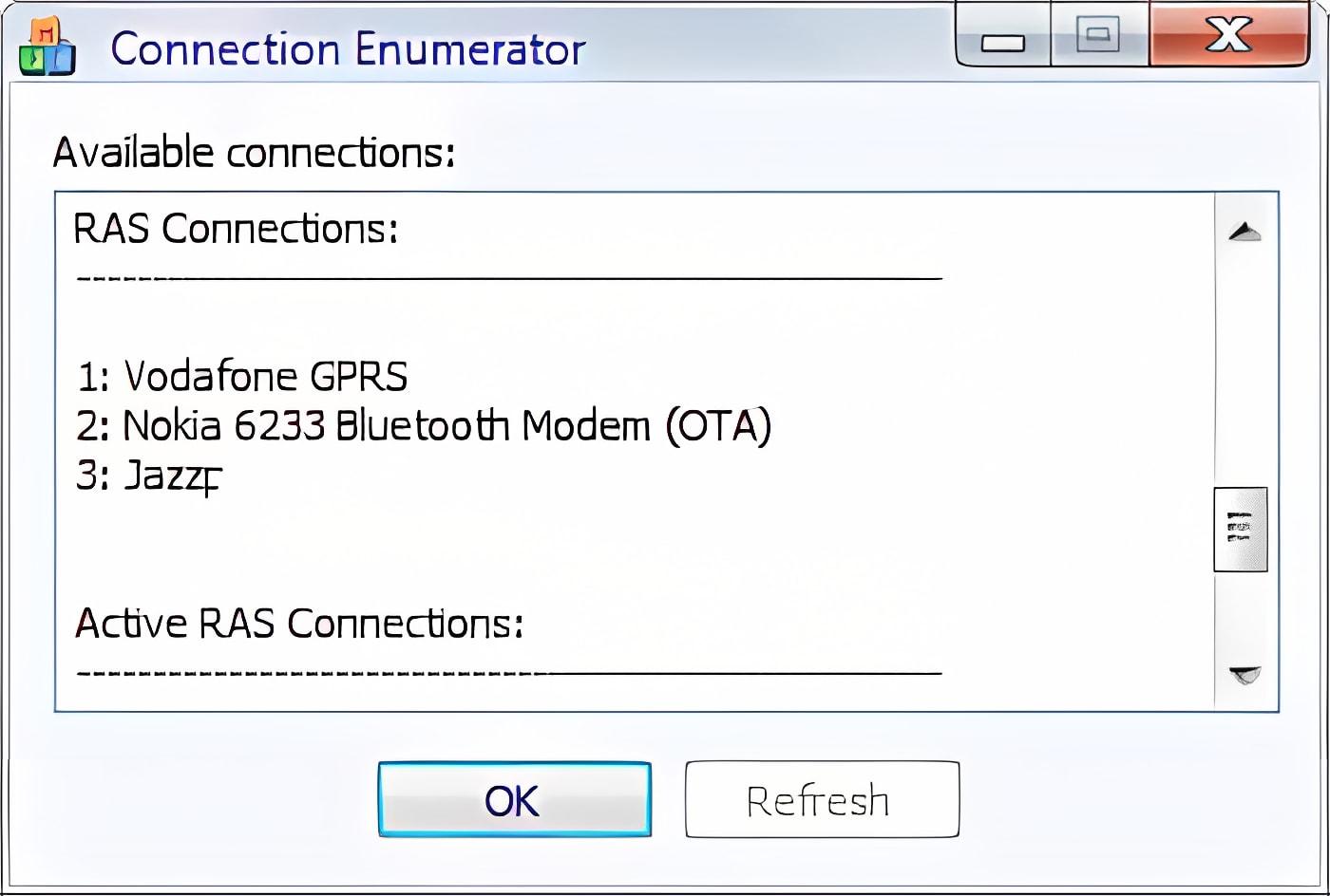 Connection Enumerator