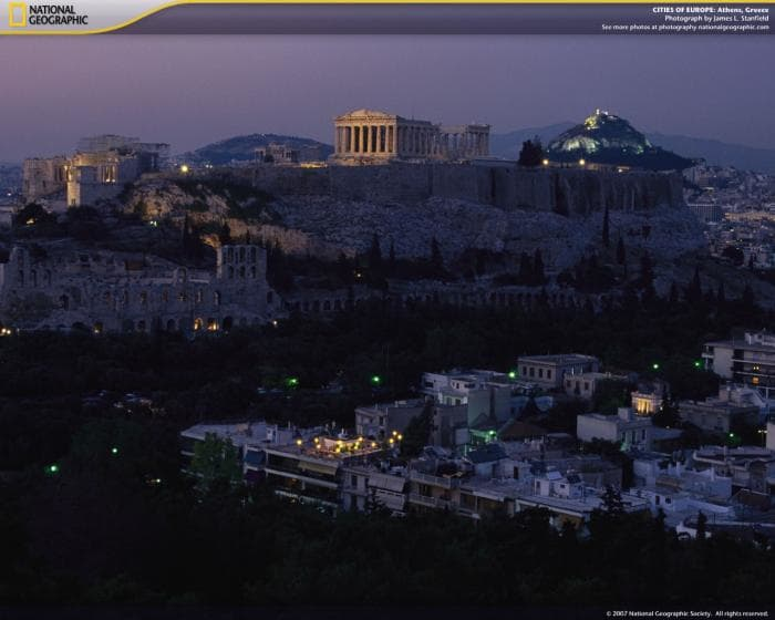 National Geographic Cities of Europe Screensaver