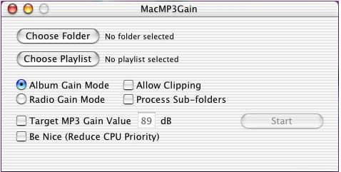 MacMP3Gain