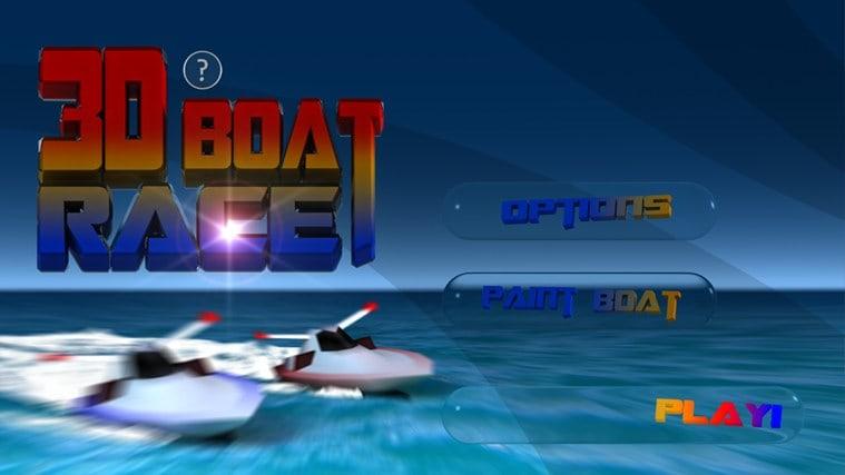 3D Boat Race für Windows 10
