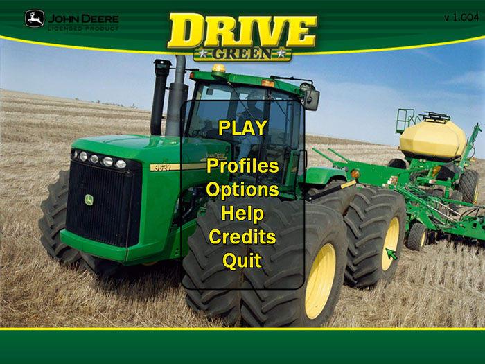 John Deere Drive Green Screenshot