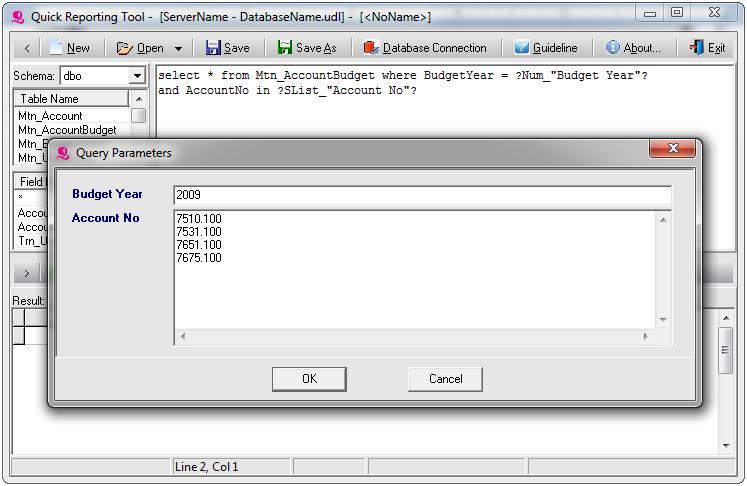 Quick Reporting Tool - Developer Module