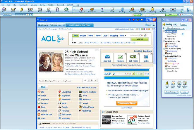 free download aol 9.7 software