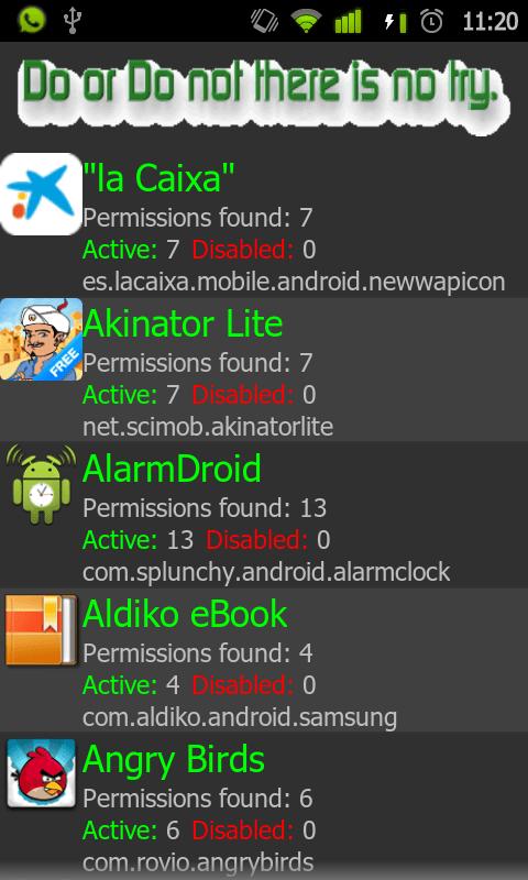 Permissions Denied