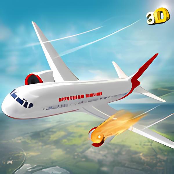 Airplane Rescue Simulator 3D - Pilot Crash Landing varies-with-device