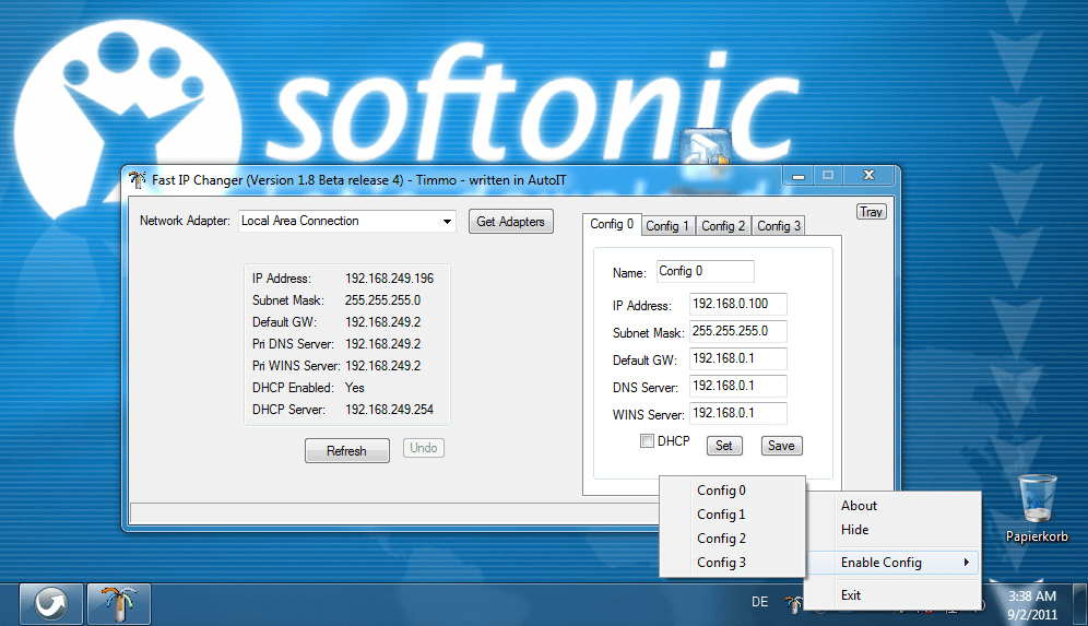 Fast IP Changer