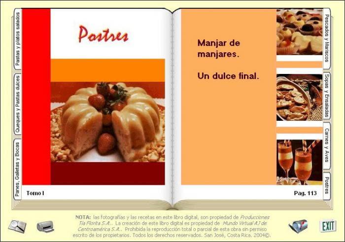 Mi Libro Digital de Cocina