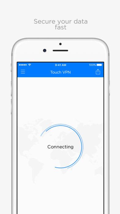 Unlimited VPN Proxy Touch VPN