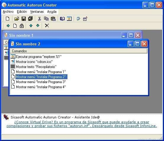 Sicasoft Automatic Autorun Creator