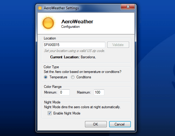 AeroWeather 1.0