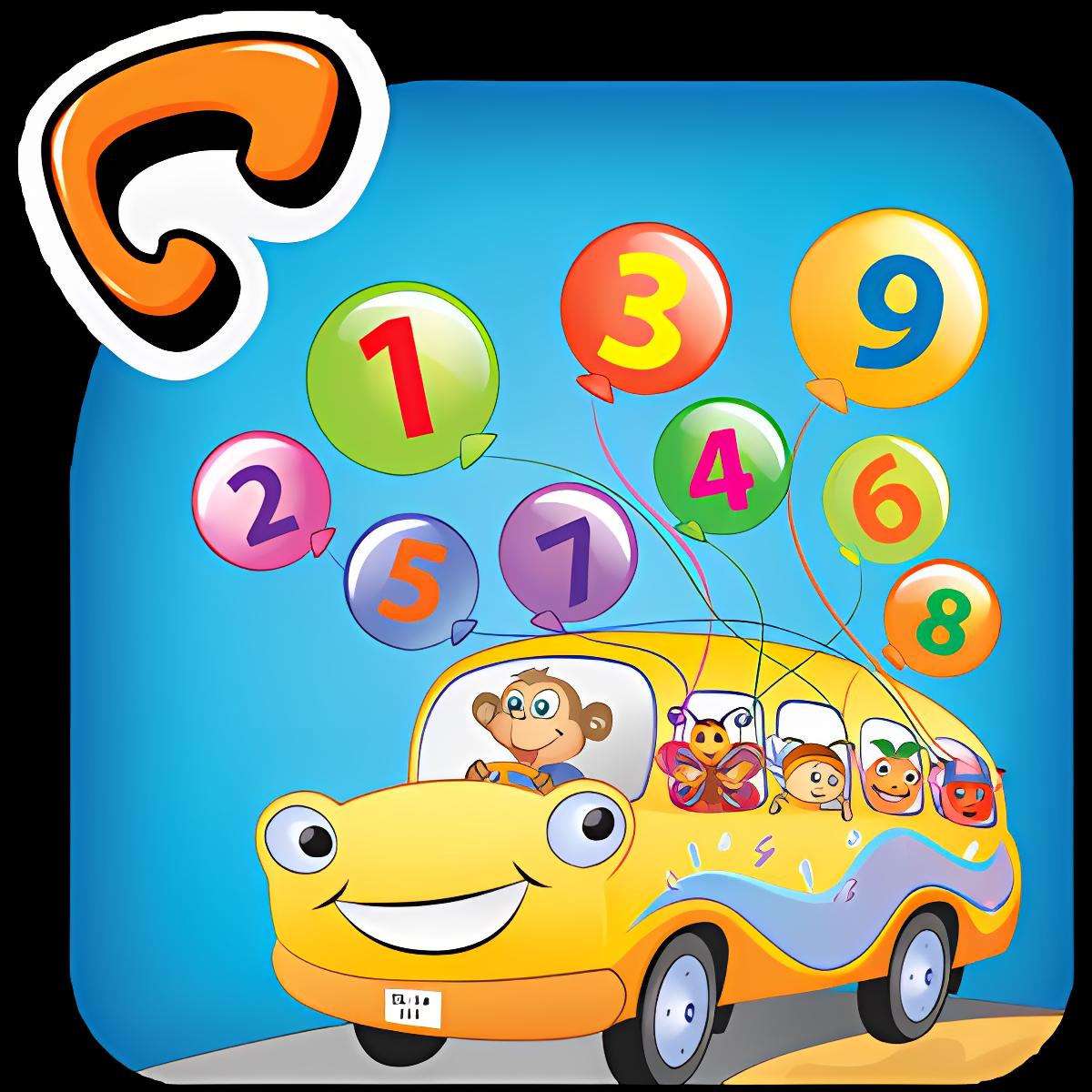 Niños Juego Contando Números