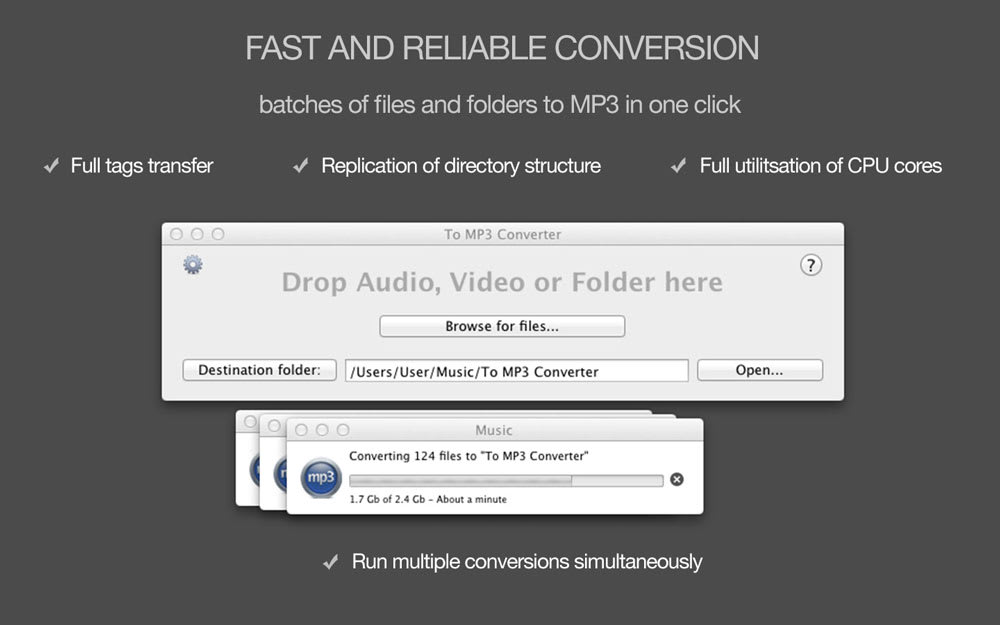 To MP3 Converter for MAC