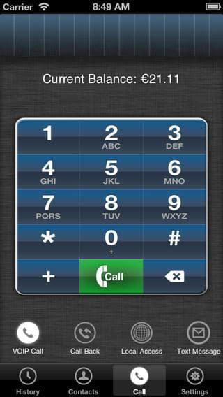 MobileVOIP - Appels à bas coût