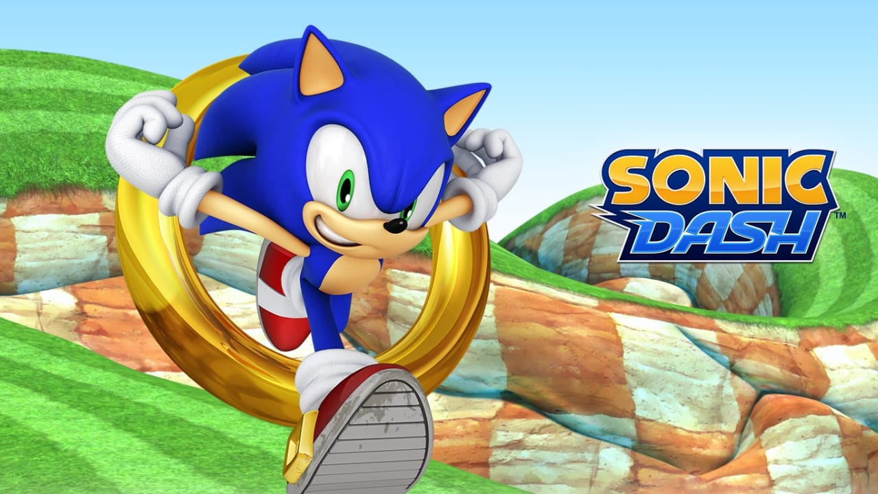 SONIC DASH - Cover