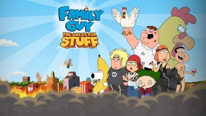 Family Guy: A la recherche