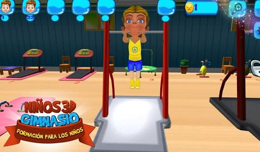 3D Kids Training For Kids
