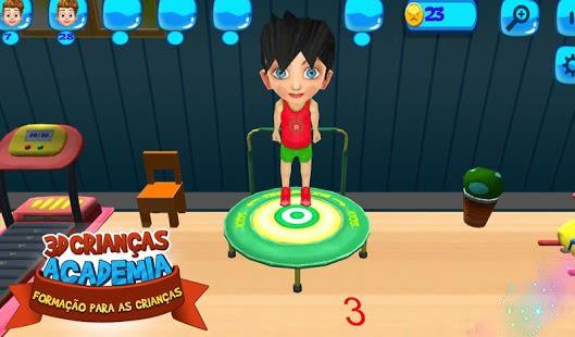 3D Kids Training For Kids