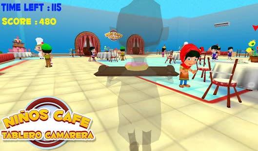 Kids Cafe Camarero Dash