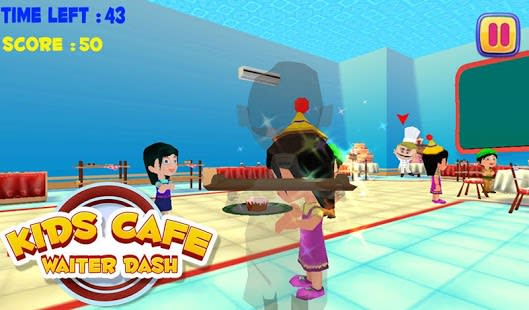 Kids Cafe Camarero Dash
