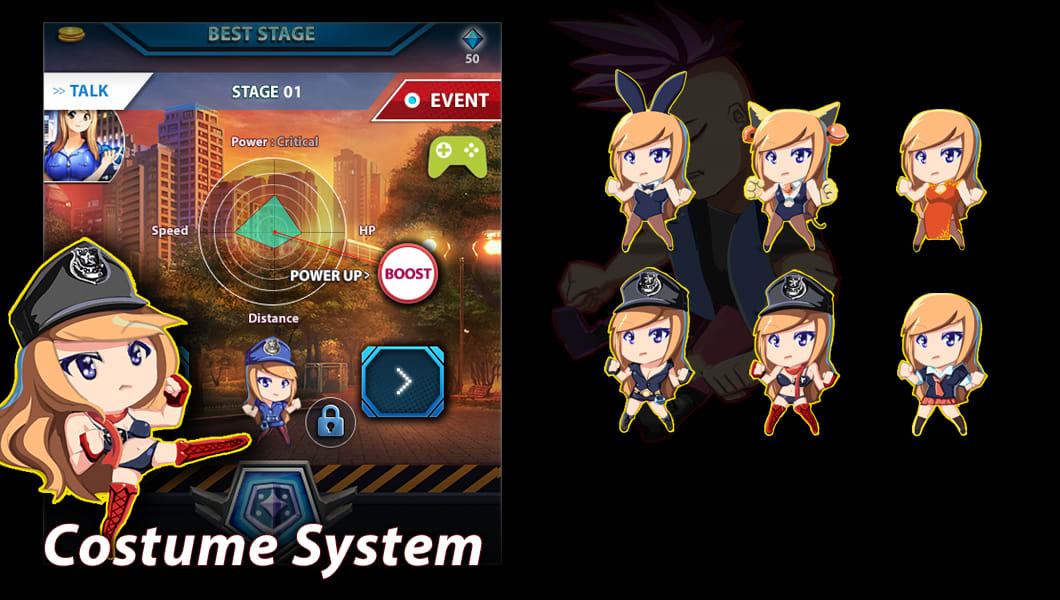 justice cop : infinite attack