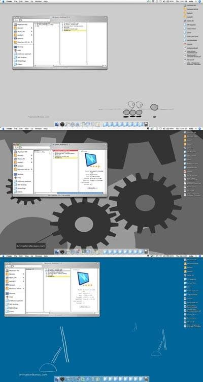 Animated Desktops