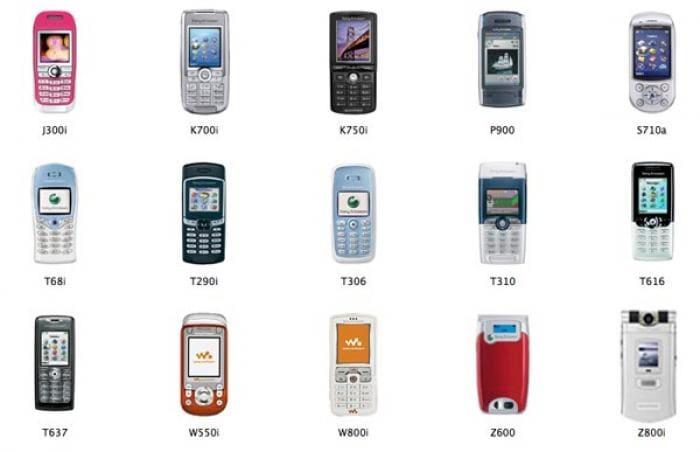 Sony Ericsson Icons