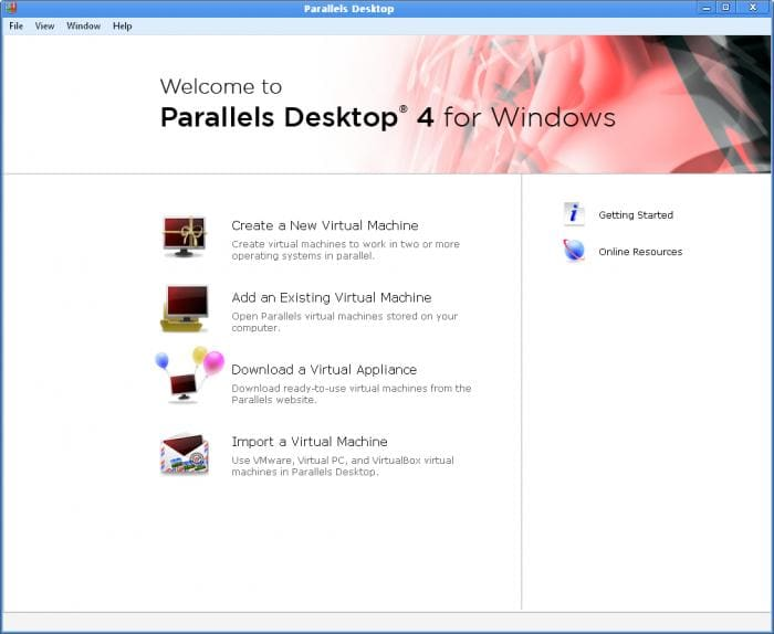 Parallels Desktop for Windows