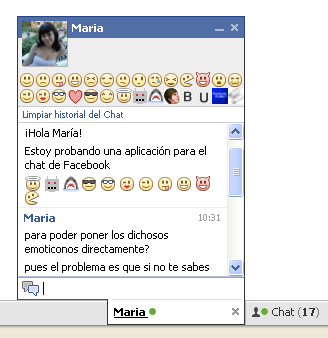 Facebook ChatBar +
